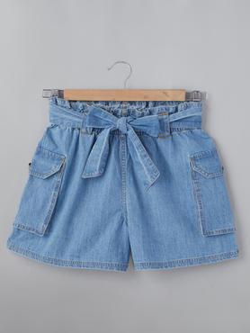 Short With Cargo Pocket & Belt