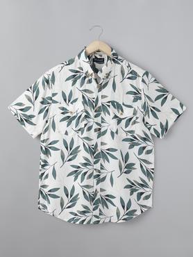 Flower Printed Shirt
