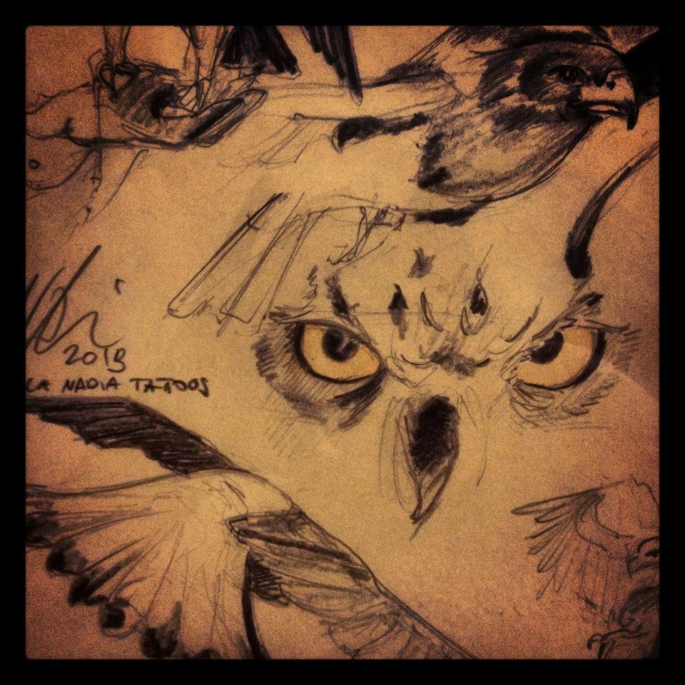 Sketch ©Nadia Besomi
