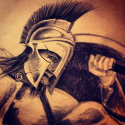 Warrior ©Nadia Besomi