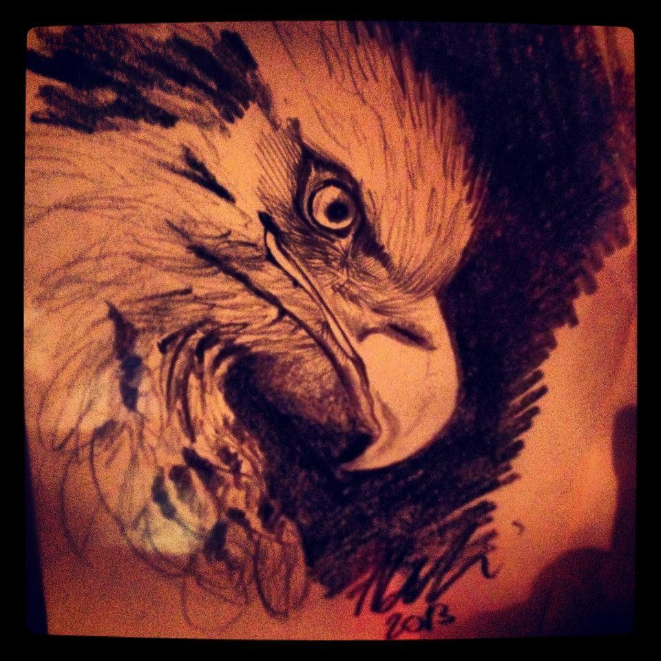 Eagle ©Nadia Besomi