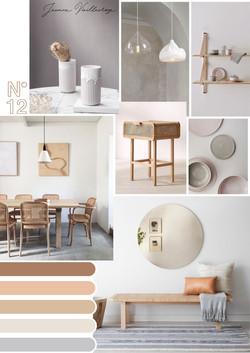 Warm Cozy Salon/Living