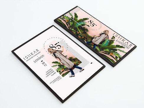 INVITATION DESIGN/ COLLAGE/ TYPOGRAPHY