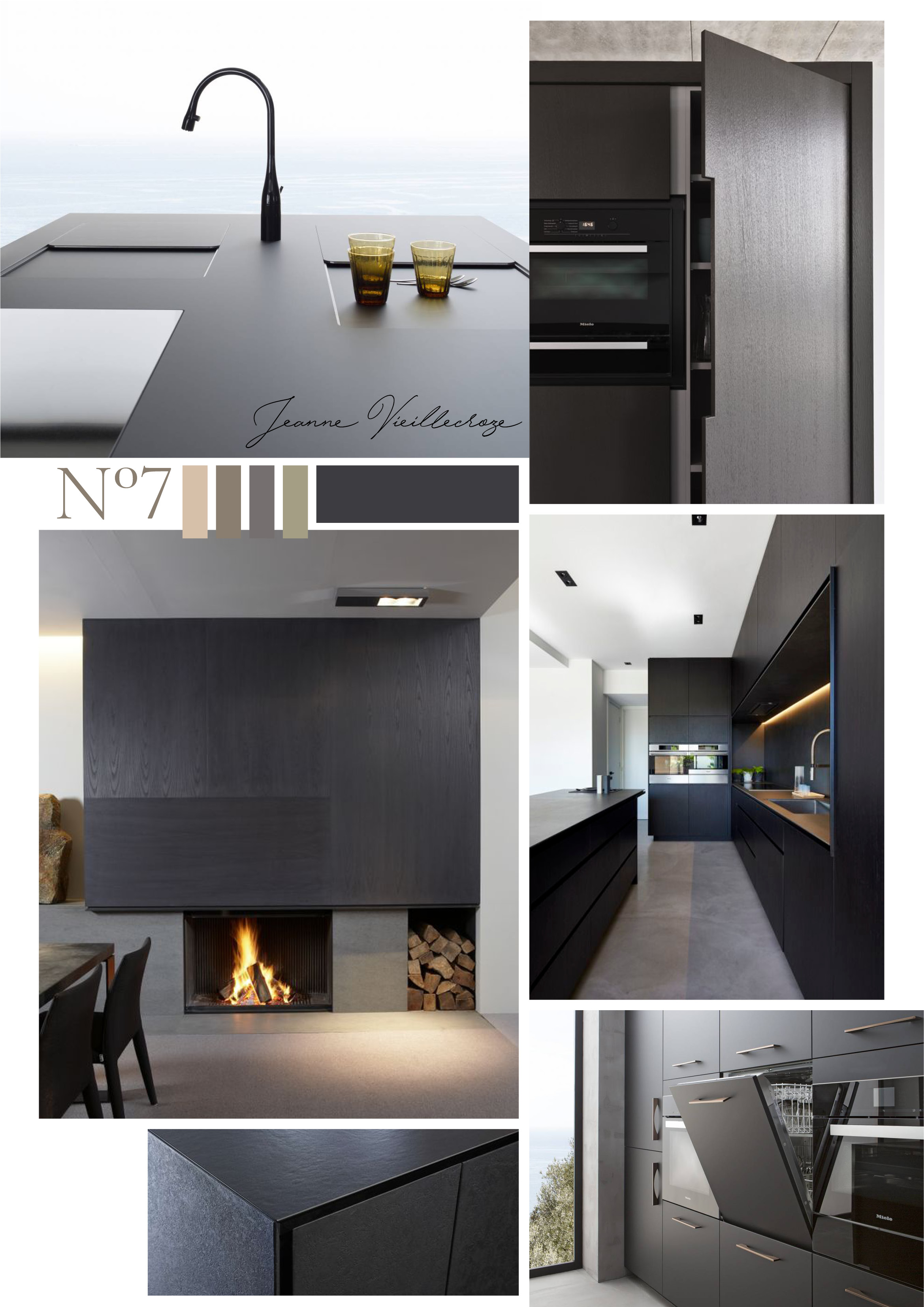 Dark Matte Kitchen