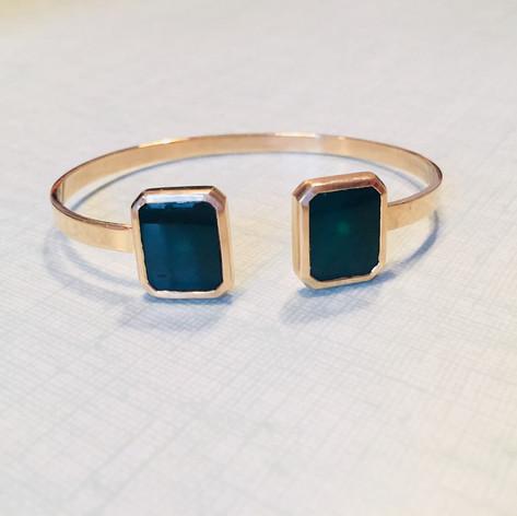 Bracelet jonc, or jaune 750/1000