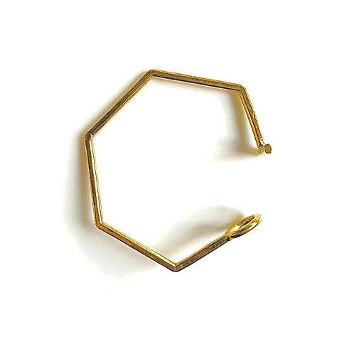 Bracelet - Hexa Jonc Ouvert