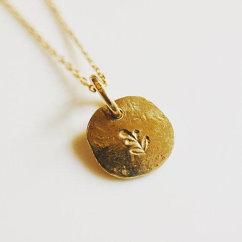 Mini médaille empreinte