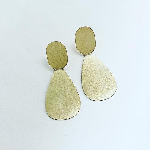 Boucles d'oreilles - A plat duo