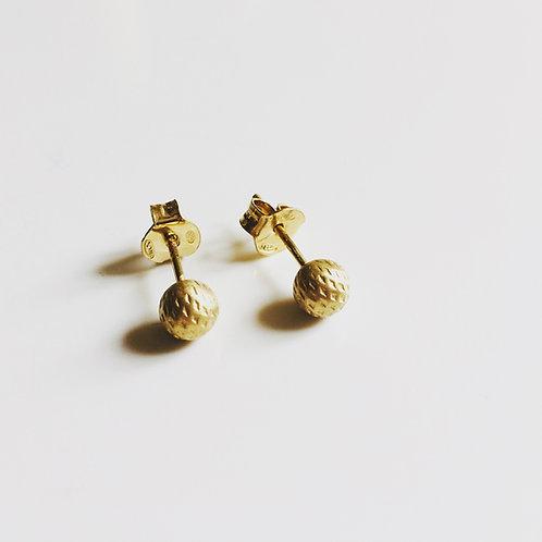 Boucles d'oreilles Puce Cratère