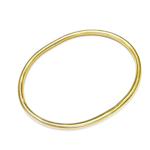 Bracelet jonc plein 3mm Ovale