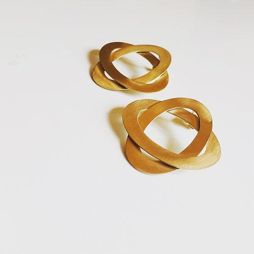 Boucles d'oreilles Saturne