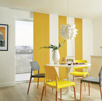 Louvolite - Panel- Pico- Mustard and