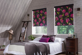 Zinnia_Blackout_Black_Loft_Bedroom_Rolle