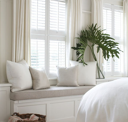 shutters curtains accessories white