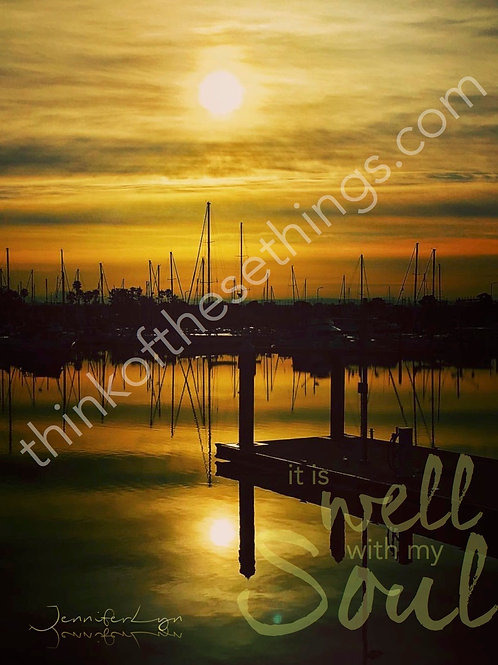 It Is Well With My Soul | Wall Decor: Photograph w/basic matte or on canvas