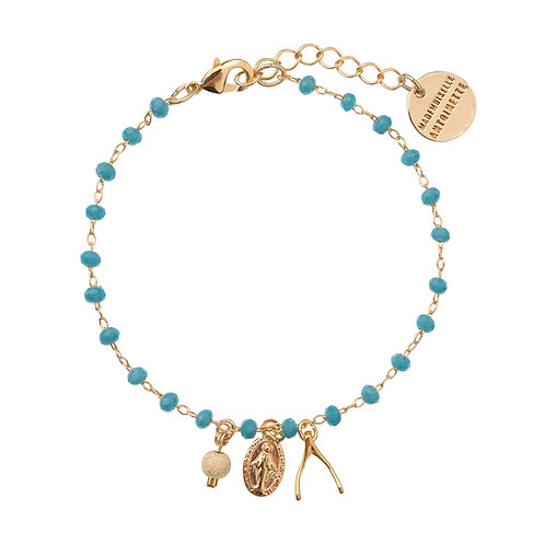 Bracelet Wish bleu