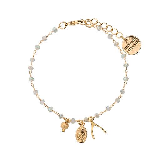 Bracelet wish Gris