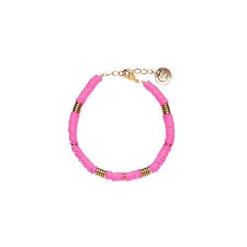Bracelet Surf - Rose Flash