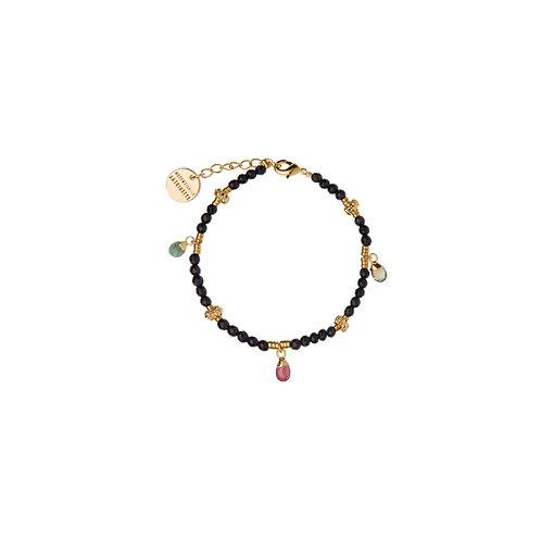 Bracelet Amulettes Blue sand stone