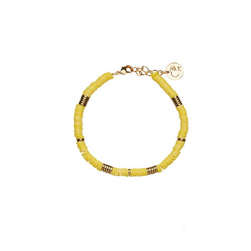 Bracelet Surf - Jaune