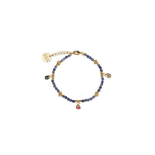 Bracelet Amulettes Sodalite