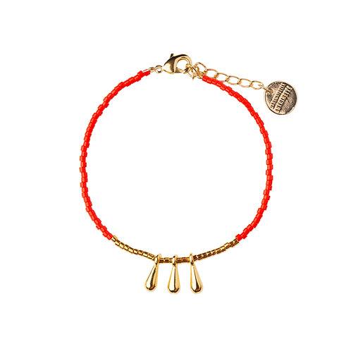 Bracelet Drop rouge