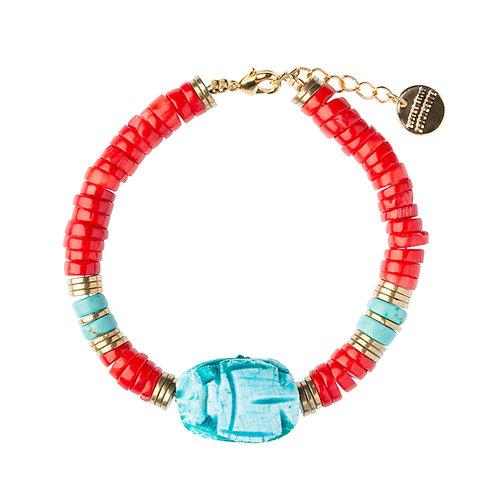 Bracelet Scarabée gorgone