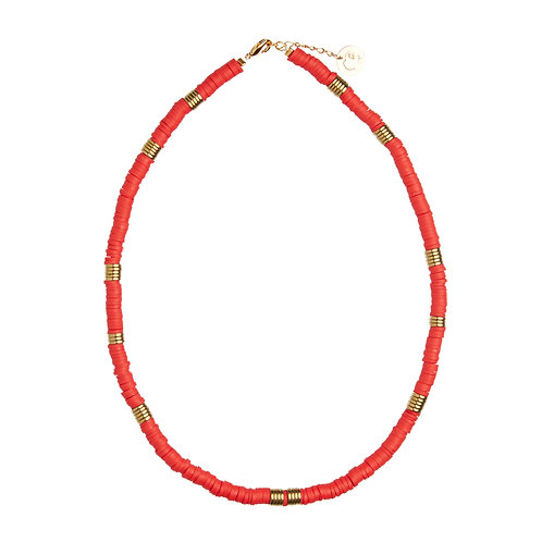 Collier surf - Rouge