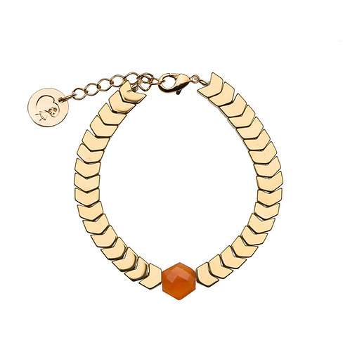 Bracelet Isis - Cornaline