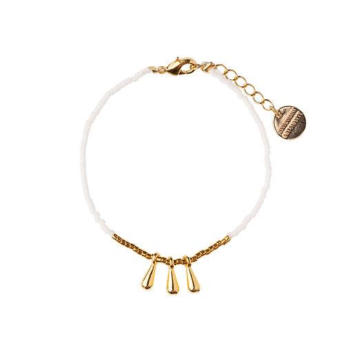 Bracelet Drop blanc