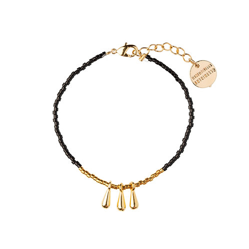 Bracelet Drop noir