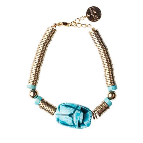 Bracelet Scarabée hématite