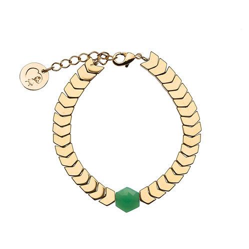 Bracelet Isis - Chrysoprase