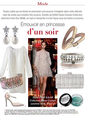 parutin magazine Mademoiselle Antoinette