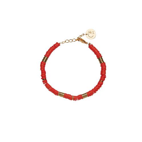 Bracelet Surf - Rouge