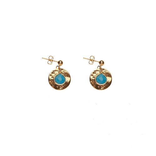 Boucles d'oreilles ECU - Turquoise