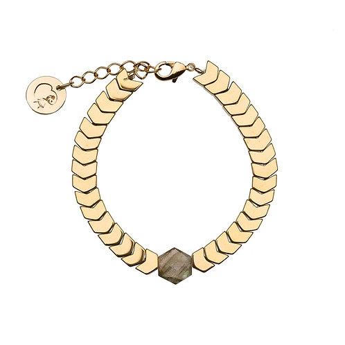 Bracelet Isis - Labradorite
