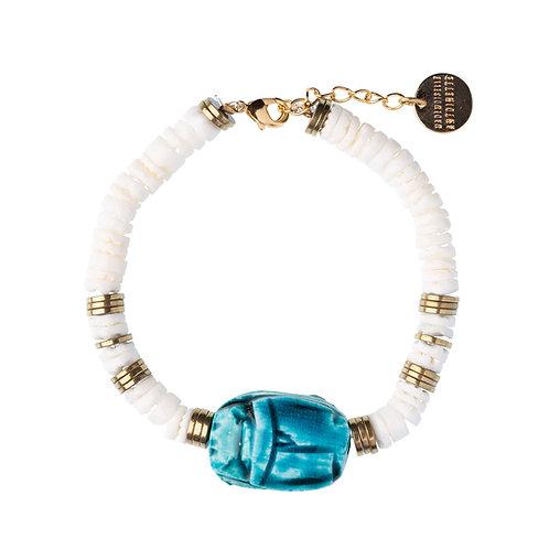 Bracelet Scarabée coquillage