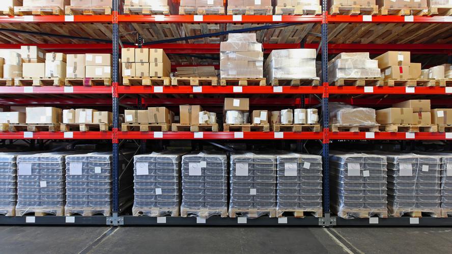 Warehouse Shelves (Pallet Racking)