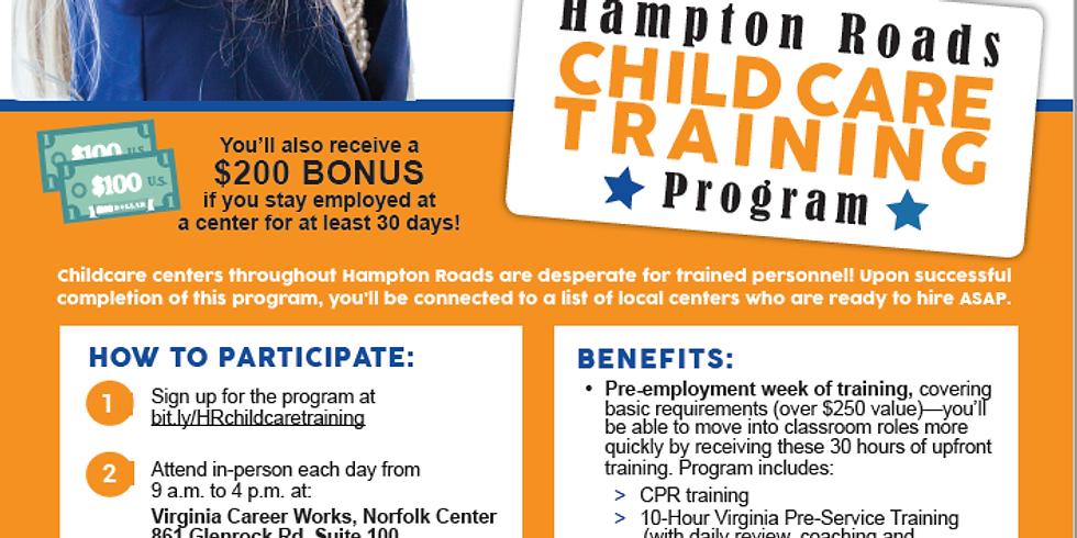 Hampton Roads Childcare Training