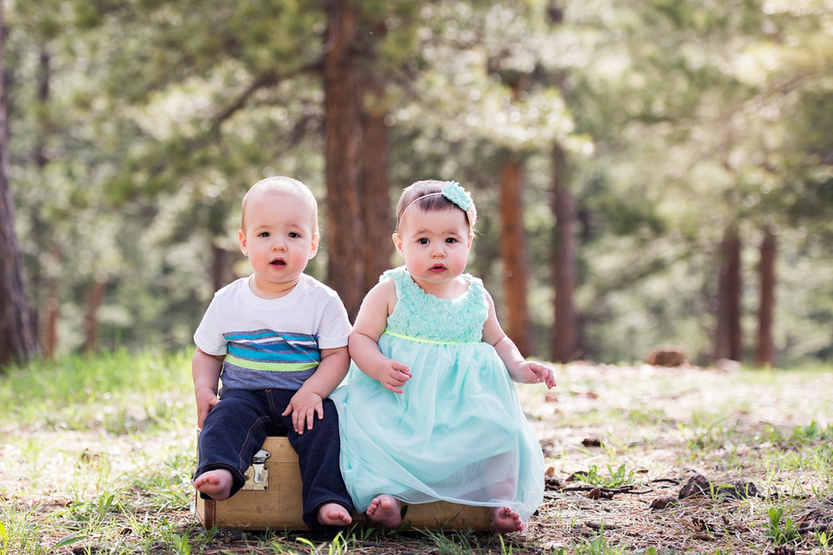 McCurdy Family | Denver Milestone Session | Lookout Mountain Park