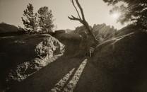 Mark James, Crags Sunset, 2019