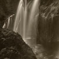 Mark James, Hanging Lake Falls, 1996