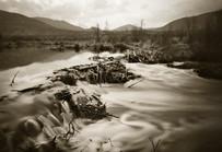 Mark James, Morain Beaver Dam, 1995