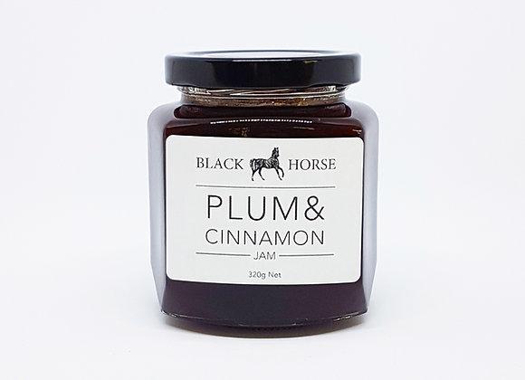Plum & Cinnamon Jam