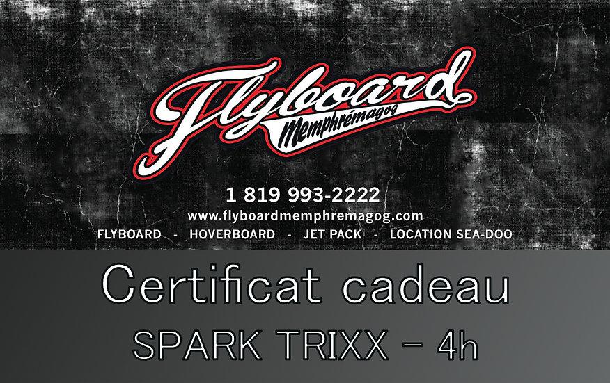 SPARK TRIXX - 4h