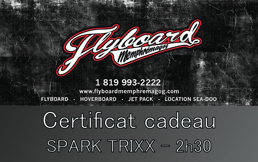 SPARK TRIXX - 2h30