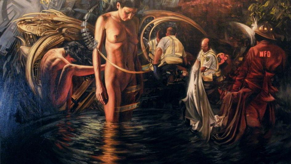 Holographic Baptism