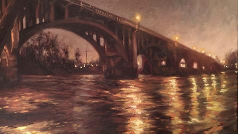 Gervais Bridge before Dawn