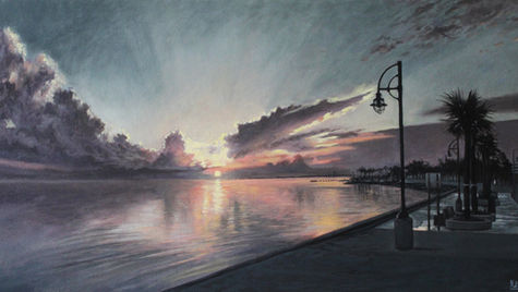 Dawn on Lake Pontchartrain